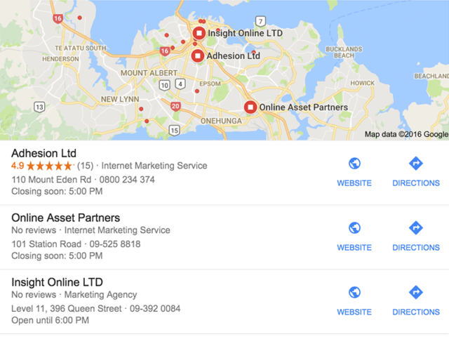 How do Google Reviews work? - Adhesion®, Auckland, NZ Directions Google Maps Nz on