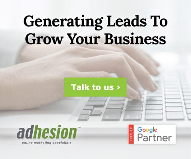 Display Ad Example Adhesion